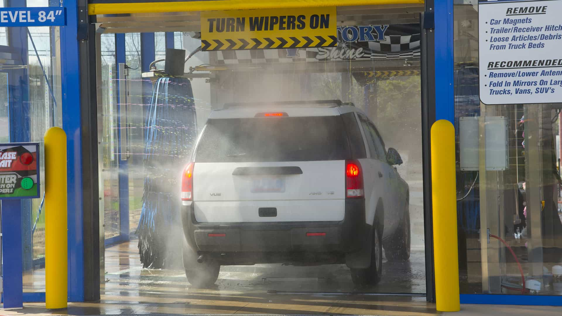 Dallas car wash auto dealer