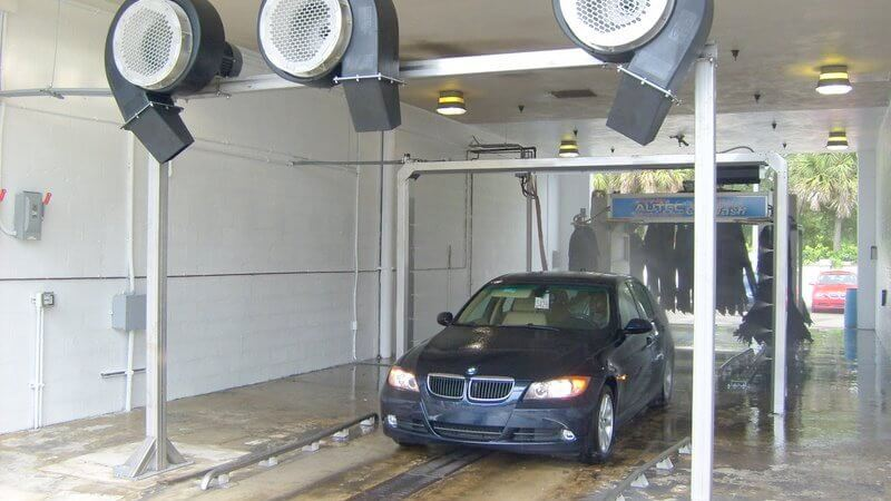 Texas auto dealer blowers dryers